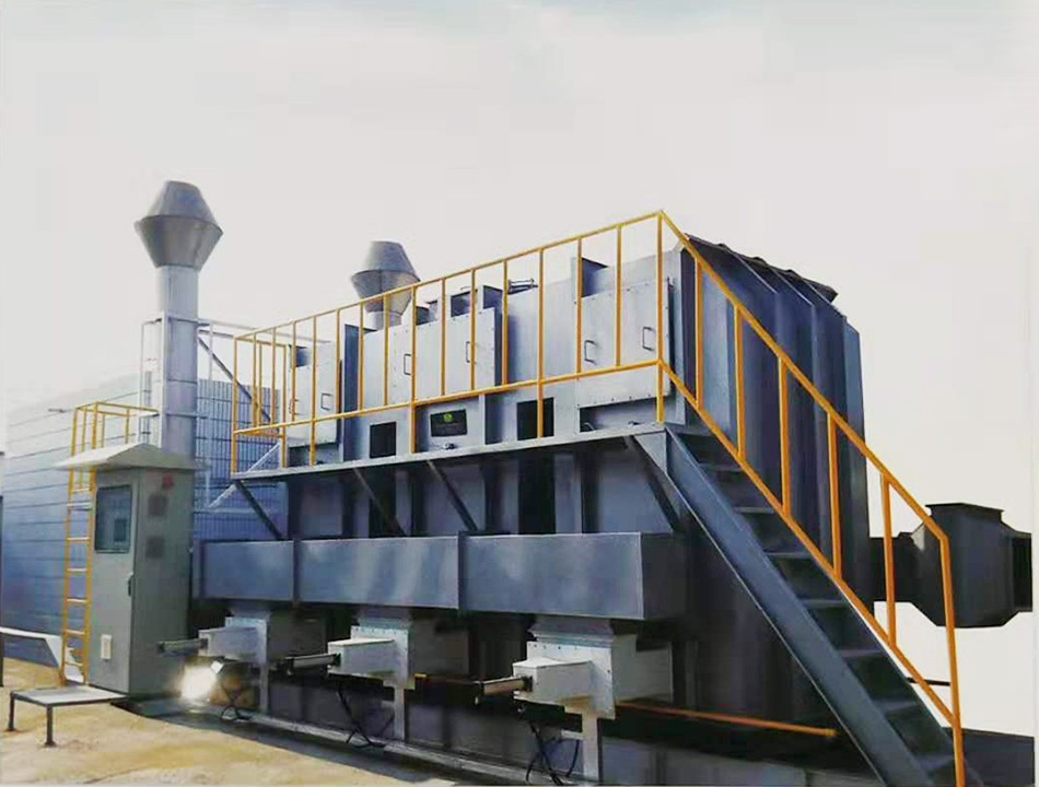 注塑废气处理工程,有机废气jbo竞博电竞工程,VOC有机废气处理